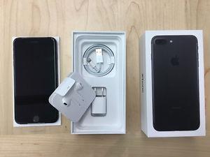 Apple iPhone 7 Plus 128gb Matte Black LIKE NEW