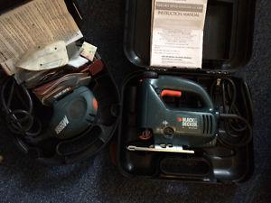 Black and decker mouse sander & scrolling jig saw