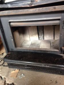 Certified wood stove insert!