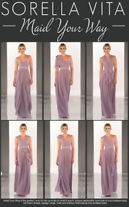 Convertible bridesmaid dress. Size 10