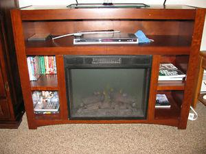 Entertainment Centre with Fireplace