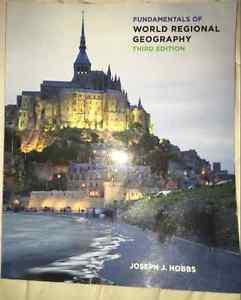 Fundamentals of World Regional Geography 3ed.