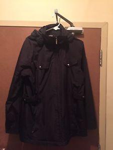 Ladies XL black spring jacket
