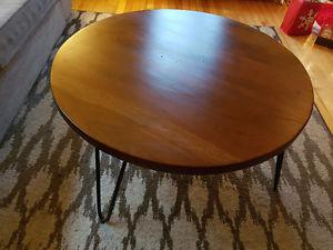 Like New Solid Wood Coffee Table