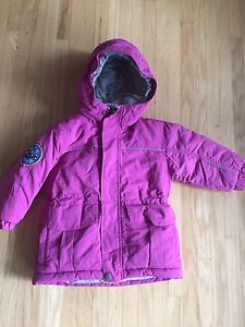 MEC Toaster 2T Parka in pink - snow pants and hat included!