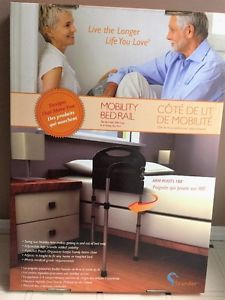 Mobility Bed Rail by Stander Get Up Out of Bed Easier
