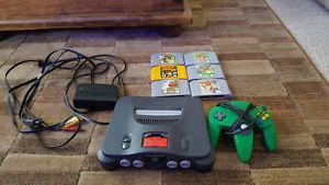 Nintendo 64 Great condition 6 games