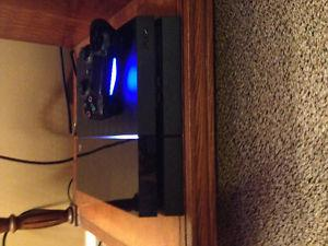 PS4 Console + Dualshock Controller + Headset + 3 PS4 Games