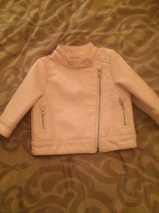 Pink motorcycle jacket. West Kelowna