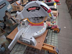 SEARS CRAFTSMAN MITRE SAW IN NEW CONDITION $200