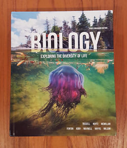 Textbook: Biology -- Exploring the Diversity of Life