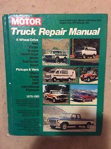 Truck repair manual