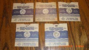 View Master Reels 5 in set