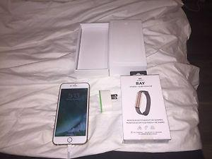 iPhone 6 Plus 64gb with Misfit Wristband