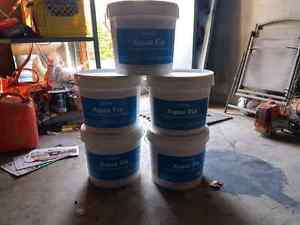 5 Brand New Pails of Aqua Fix Glue 75% OFF!!