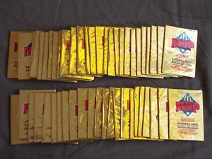 50 unopened packs of  Donruss McDonald's MVP Series