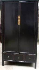 Asian Armoire - Cabinet - Wardrobe - Noodle Cabinet