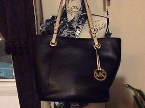 Authentic Michael Kors black purse