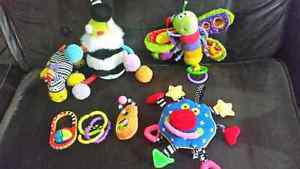 Baby toy lot Lamaze and others