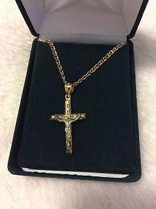 Beautiful Catholic/Christian cross necklace - never been