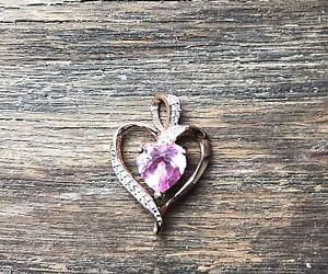 Ben Moss 14K Gold heart Pendant