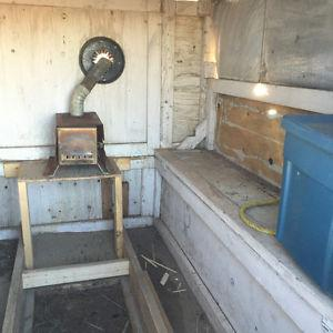 FOR SALE: ICE FISHING SHACK