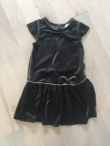 Girls gap velour dress