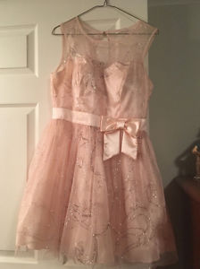 Junior prom or Easter dress for girl size .