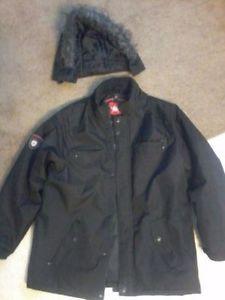 Mens Black Xlarge Winter Jacket Forsale