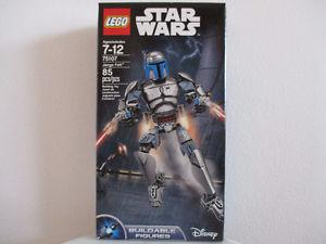 New Lego Star Wars Jango Fett
