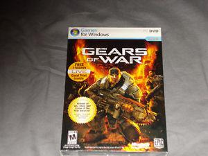 Original Gears of War for Windows-Factory Sealed for only
