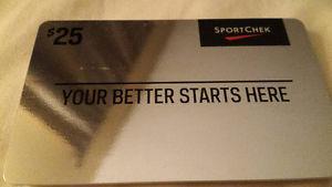 Sport Chek gift card ($)