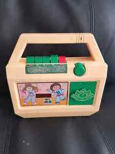 Vintage Cabbage Patch tape player