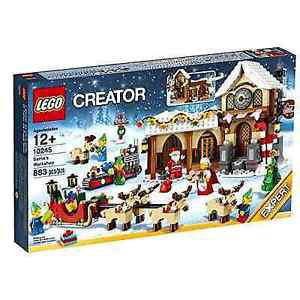 Winter/Christmas Lego Sets  SEALED Santas workshop/Toy