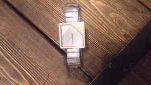 Woman's Nixon Watch (white)