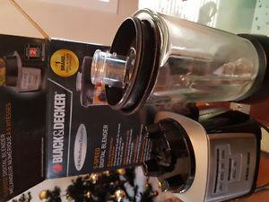 5 Speed Black and Decker Digital Blender for sale