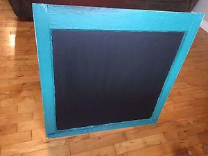 Antique window chalkboard