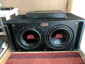 BOOM! Sledge Hammer Sub's with 800watt Thunder Amp!