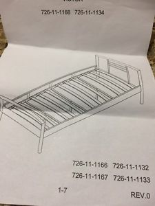 Bed frame (twin and queen size)