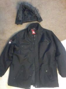 Black Xlarge Winter Jacket Forsale