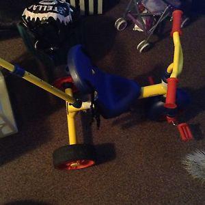 Boys toddler little tikes push bike $50 obo