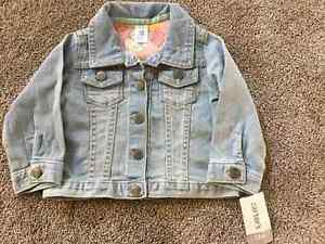 Brand new with tags 12m baby carters jean jacket L