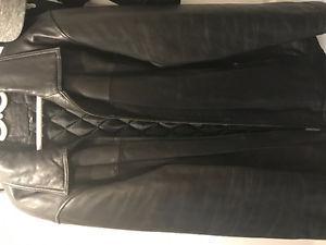 Denver Hayes leather coat for sale