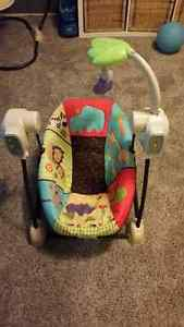Fisher Price Spacesaver Swing/Vibrating Chair