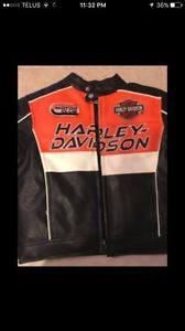 Good quality Harley Davidson leather jacket