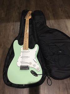 Guitar, guitar case
