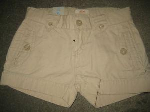 Joe Fresh Khaki Girls Shorts with Adjustable waist - 5T -