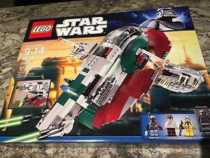 Lego Star Wars  Slave 1 New and Sealed