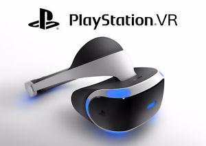 PS VR, camera and game $650 obo