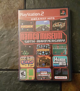 PS2 50th Anniversary Namco Museum games